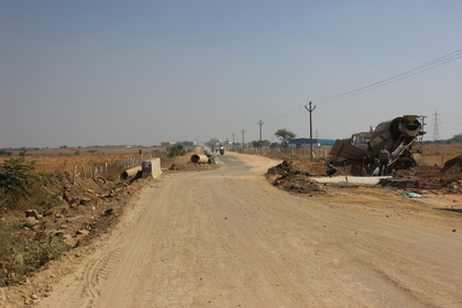 Main road expansion to 66 ft