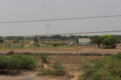 View of Flyover from Site
