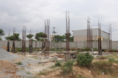 Construction Work Under Progress