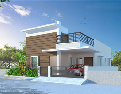 Affordable flats and independent villas by modi properties for Best house designs in hyderabad